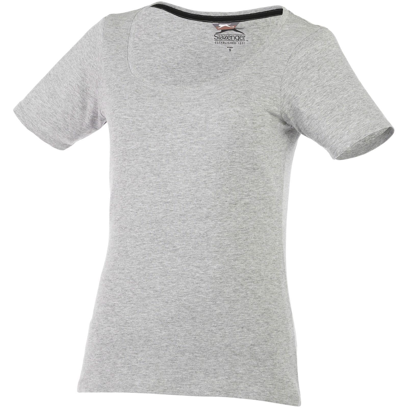 Bosey T-Shirt mit weitem Rundhalsausschnitt für Damen - Sportgrau / XXL