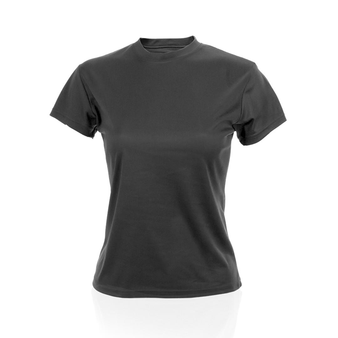 Camiseta Mujer Tecnic Plus - Negro / S
