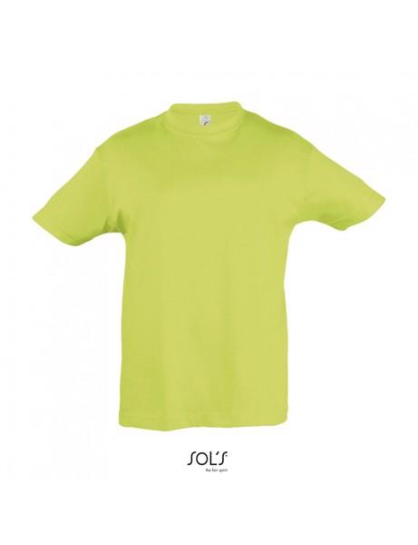 T-Shirt Sols Regent 150gr Kids - Apple Green / 4 Years