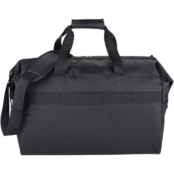 "Vault 19"" travel duffel bag with RFID secure pocket"