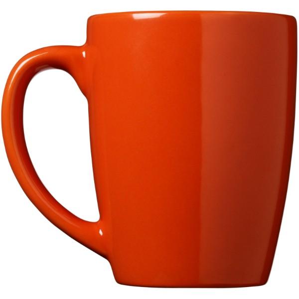 Medellin 350 ml ceramic mug - Orange