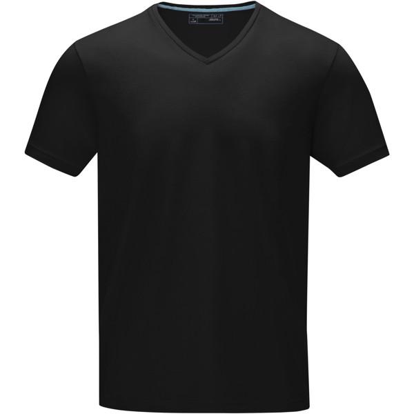 Kawartha T-Shirt für Herren mit V-Ausschnitt - Schwarz / XS