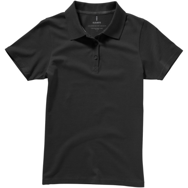 Seller short sleeve women's polo - Anthracite / L