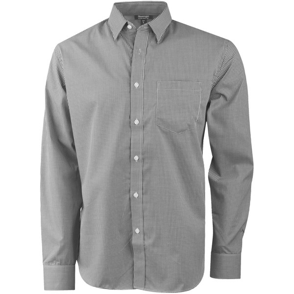 Net long sleeve shirt - Grey / M