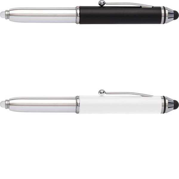 ABS 3-in1 ballpen - White
