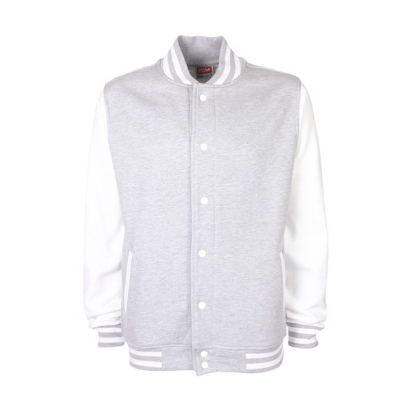 Unisex jacket 300 g/m2 Varsity Jacket Fv001 - Sport Grey (Rs) / M