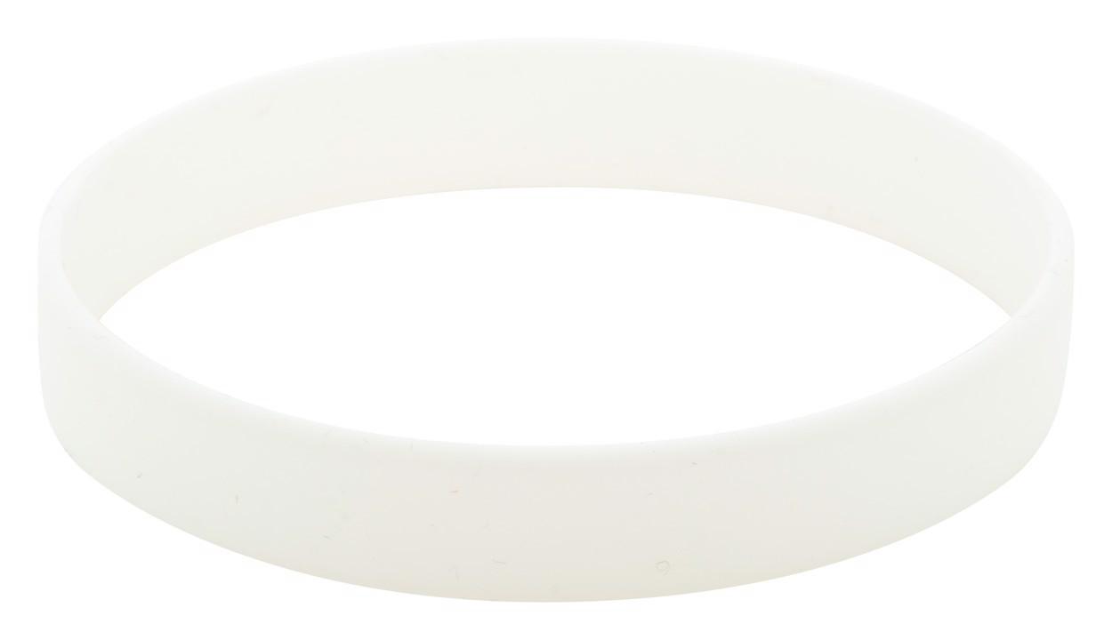 Silikonový Náramek Wristy - Bílá