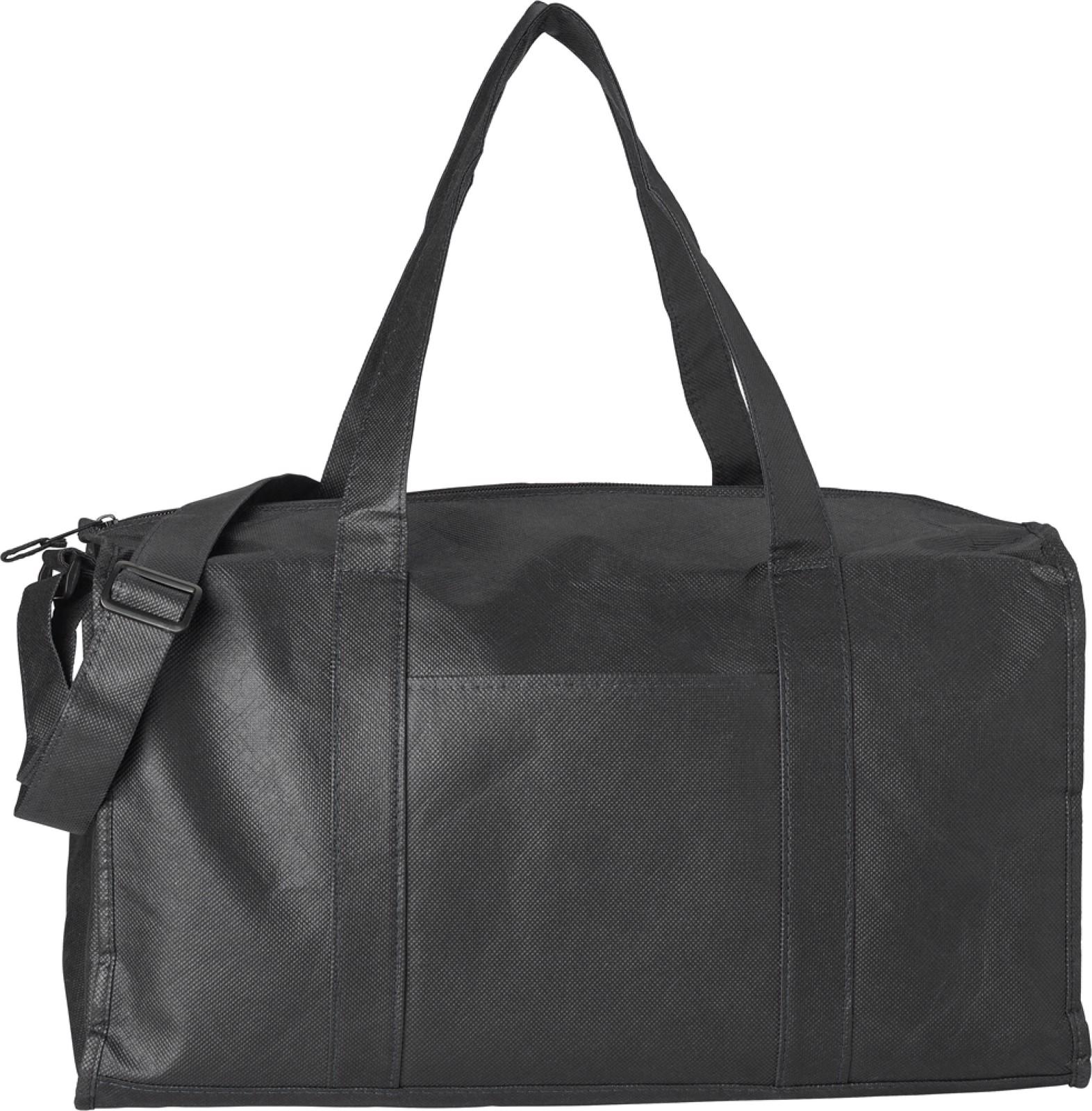 Nonwoven (100 gr/m²) sports bag - Black
