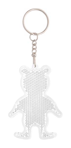 Prism Keyring Safebear - White