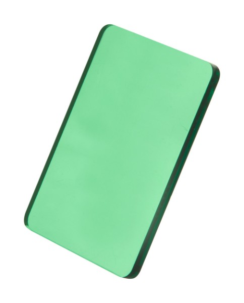 Custom Made Keyring CreaFob - Transparent Green