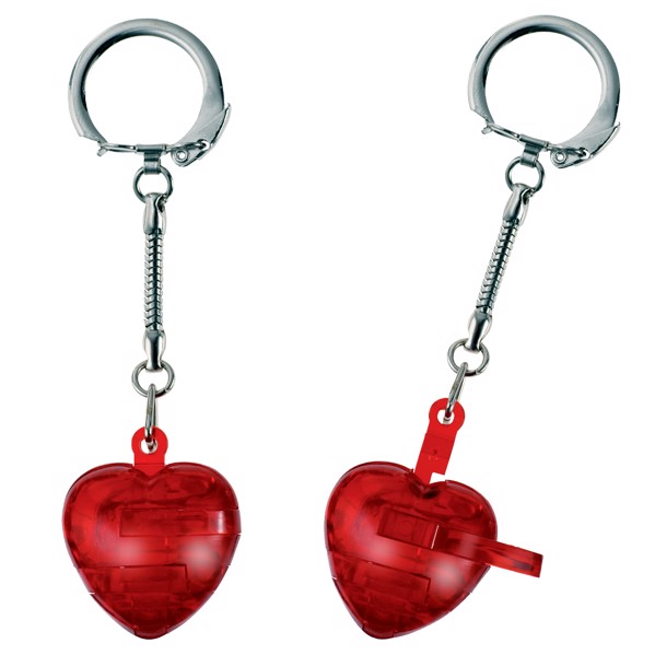 "Keyring ""Puzzle Heart"""