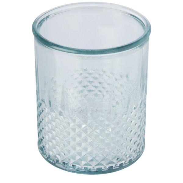 Estrel recycled glass tealight holder - Transparent Clear