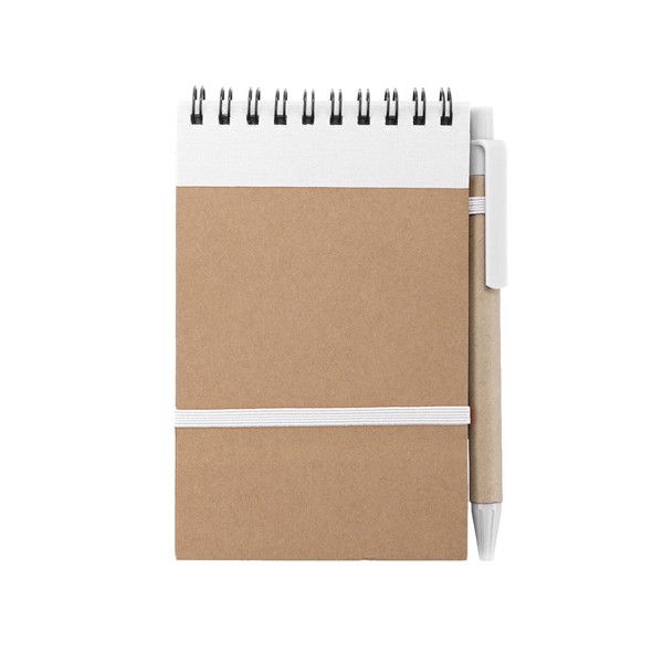 Notebook Ecocard - White