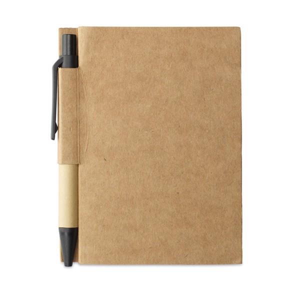 Notes z recyklingu Cartopad - czarny