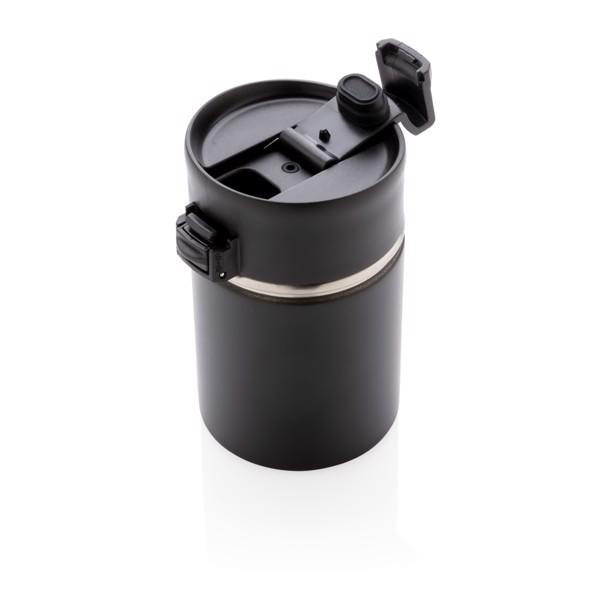 Bogota kompakt vákuum bögre kerámia felülettel - Fekete