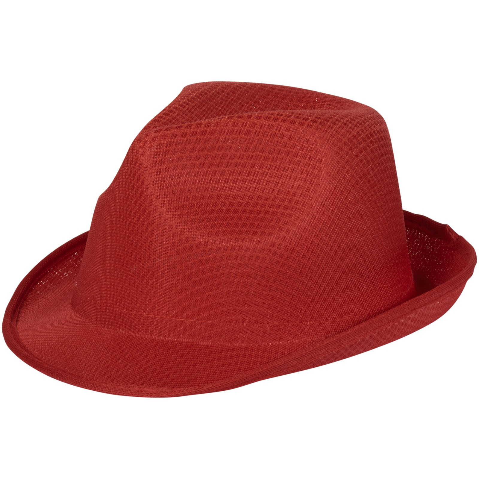 Trilby Hat - Red
