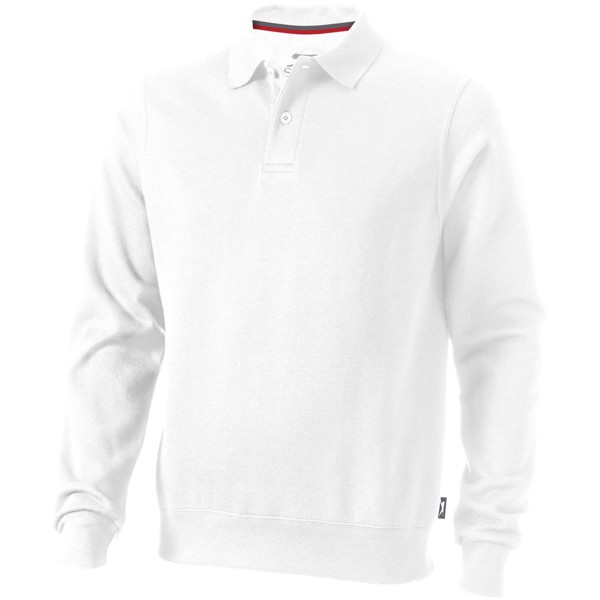 Referee polo sweater - White / XL