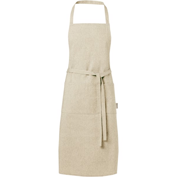 Pheebs 200 g/m² recycled cotton apron - Natural
