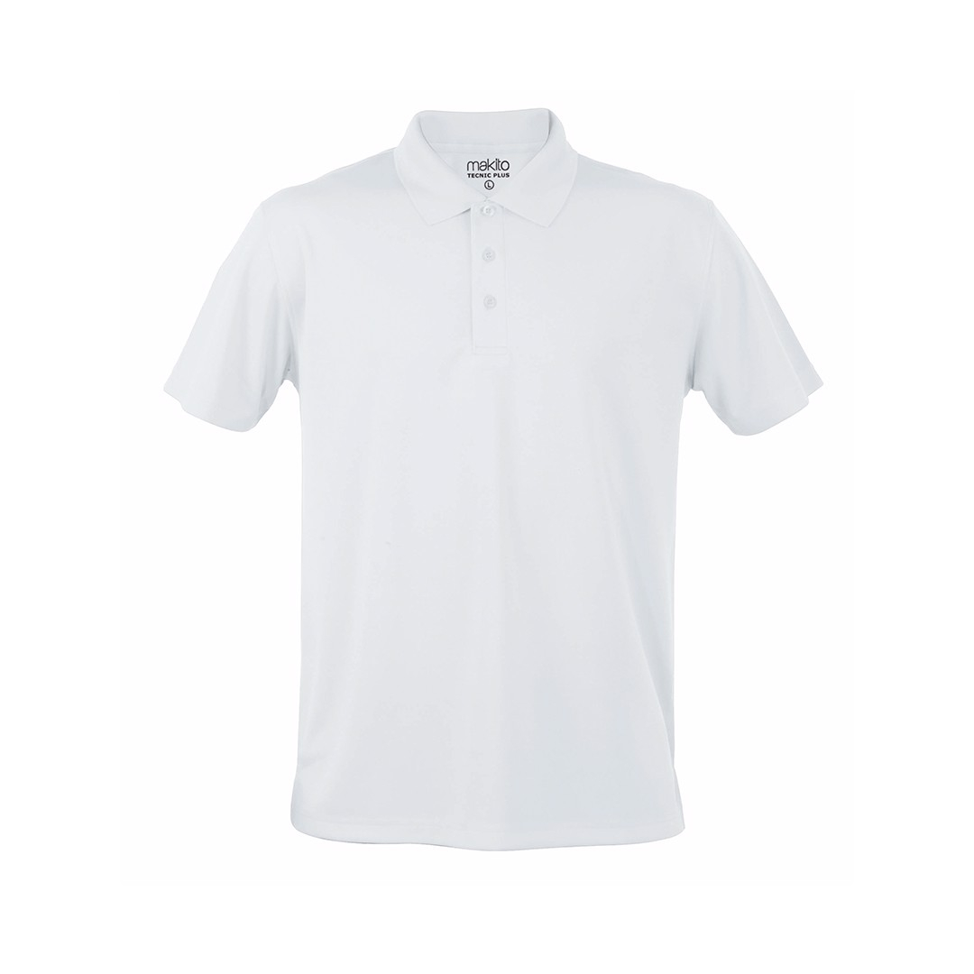Polo Tecnic Plus - Branco / XXL