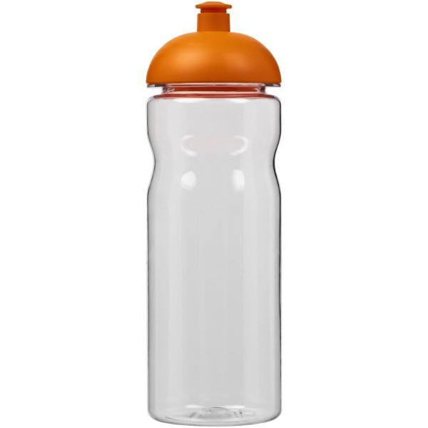 Sportovní láhev s kupolovitým víčkem Base Tritan™ 650 ml - Průhledná / 0ranžová