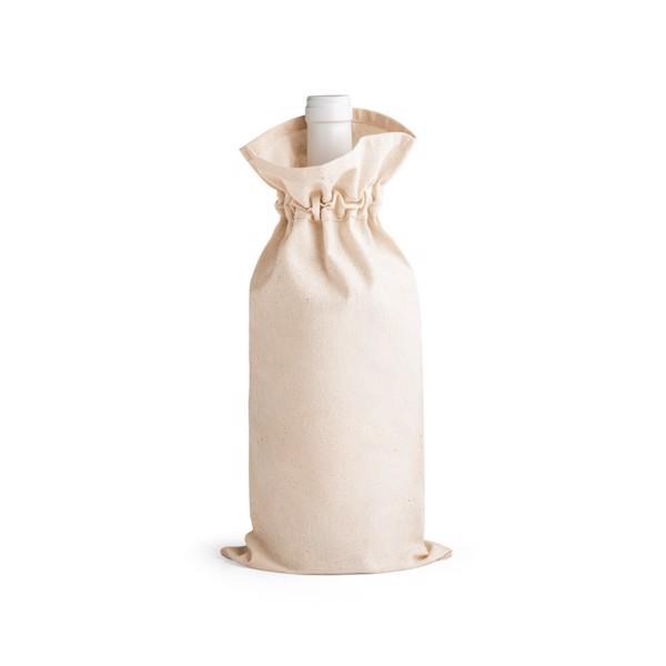 JEROME. Bolsa para botella 100% algodón