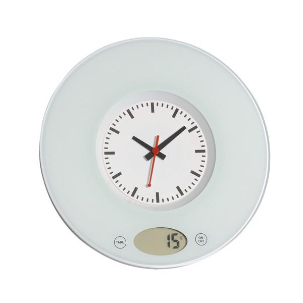 Digitální Kuchyňská Váha Time / Bílá