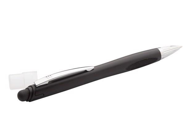 Dotykové Kuličkové Pero Glowy - Černá