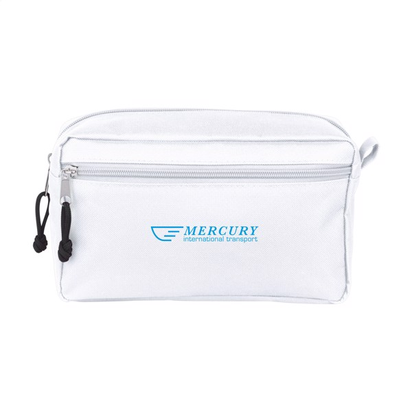 Stacey toiletry bag - White