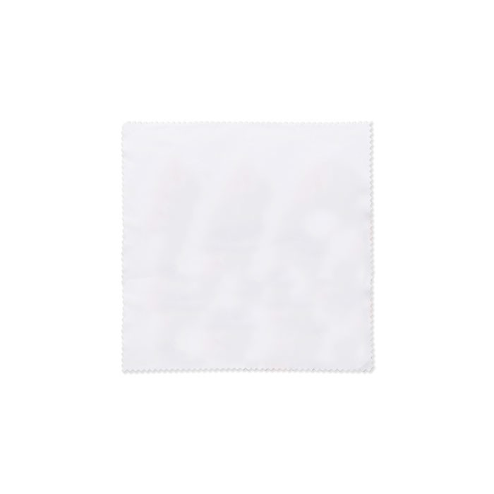 RPET cleaning cloth 13x13cm Rpet Cloth - White