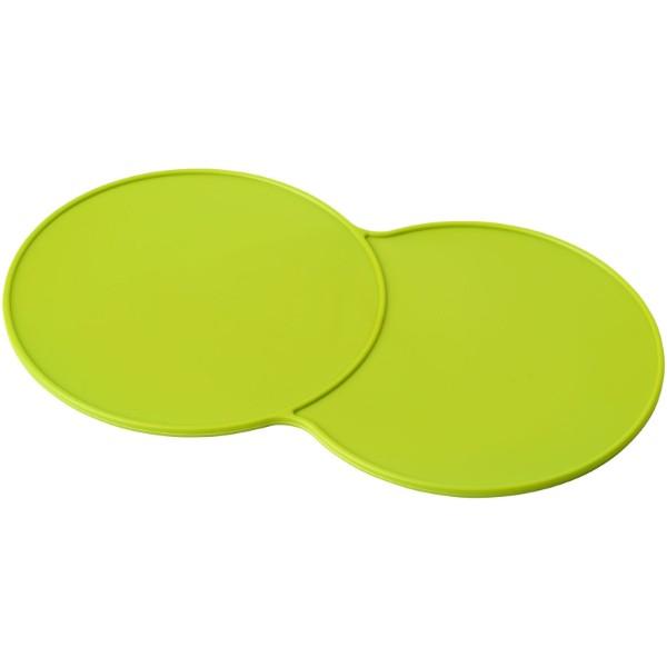 Sidekick plastic coaster - Lime