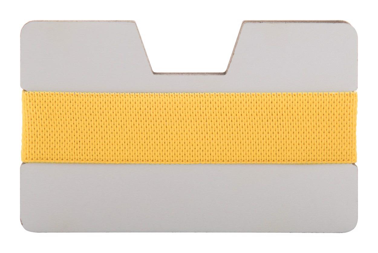 Obal Na Karty StriCard - Bílá / Žlutá