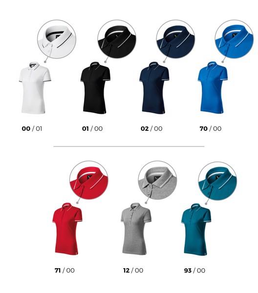 Polo Shirt women's Malfinipremium Perfection plain - White / S