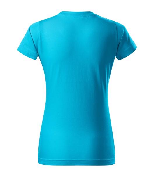 T-shirt women's Malfini Basic - Blue Atoll / M