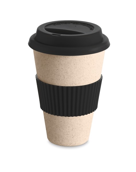 CINNAMON. Travel cup 450 ml - Black