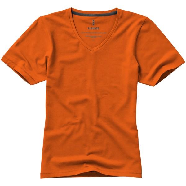 Kawartha short sleeve women's GOTS organic t-shirt - Orange / S
