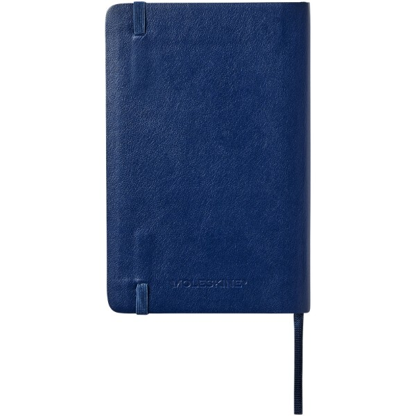 Classic PK soft cover notebook - plain - Sapphire blue