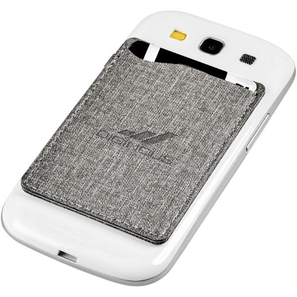 Premium RFID phone wallet - Grey