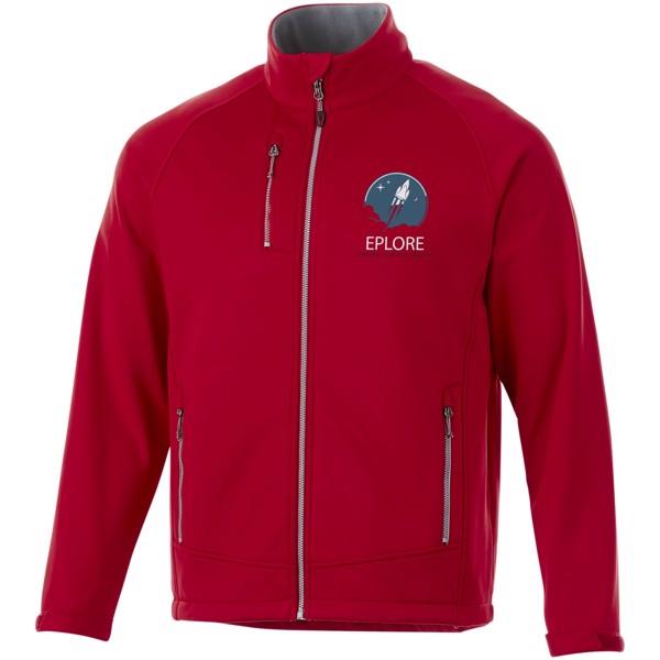Chuck softshell jacket - Red / L
