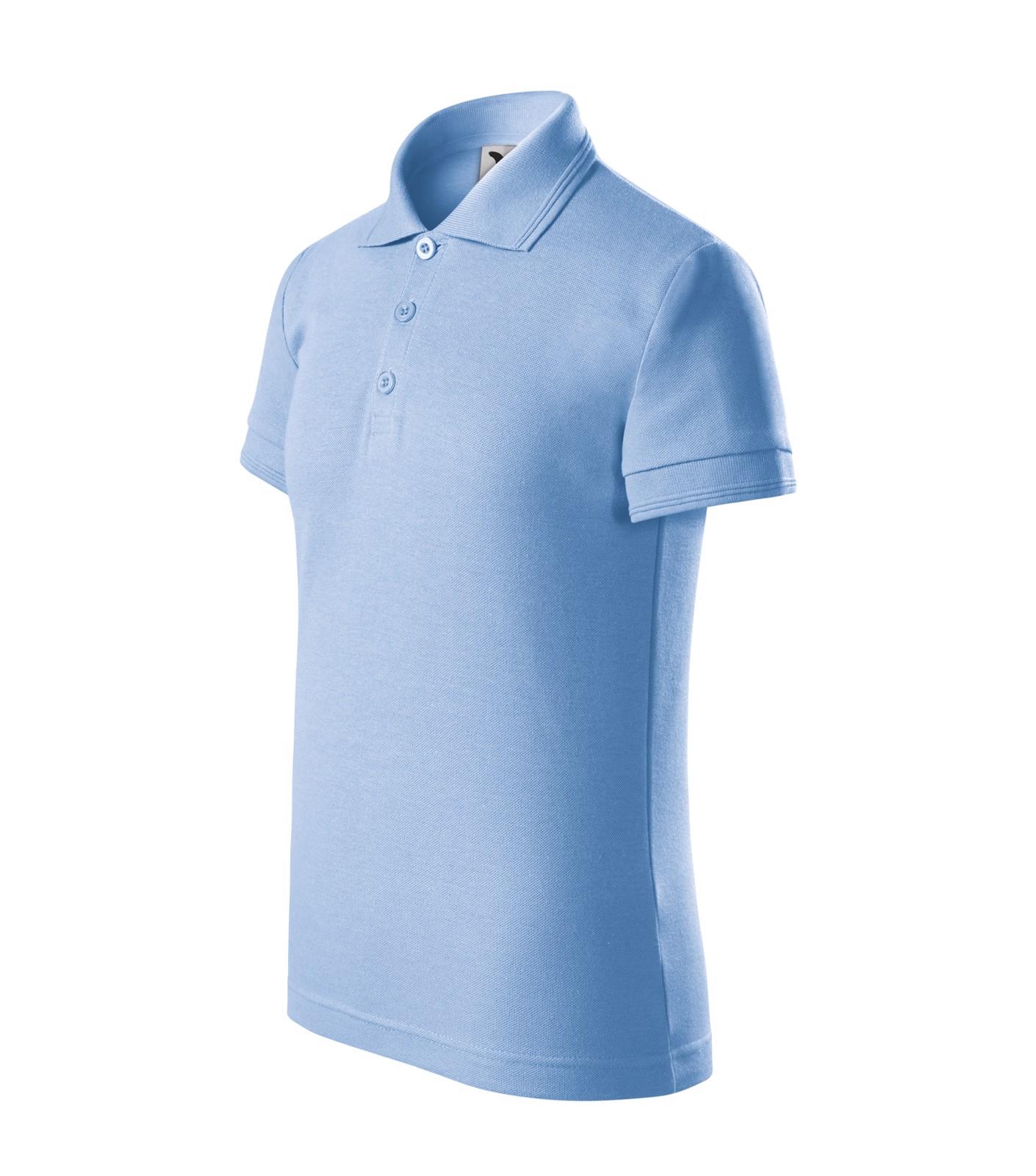 Polokošile dětská Malfini Pique Polo - Nebesky Modrá / 110 cm/4 roky