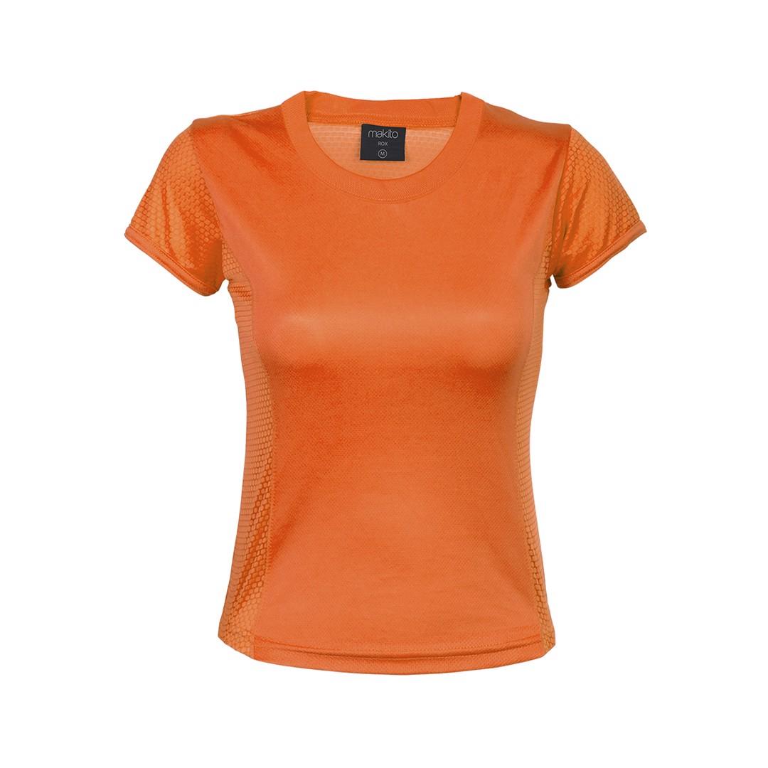 Camiseta Mujer Tecnic Rox - Naranja / XL