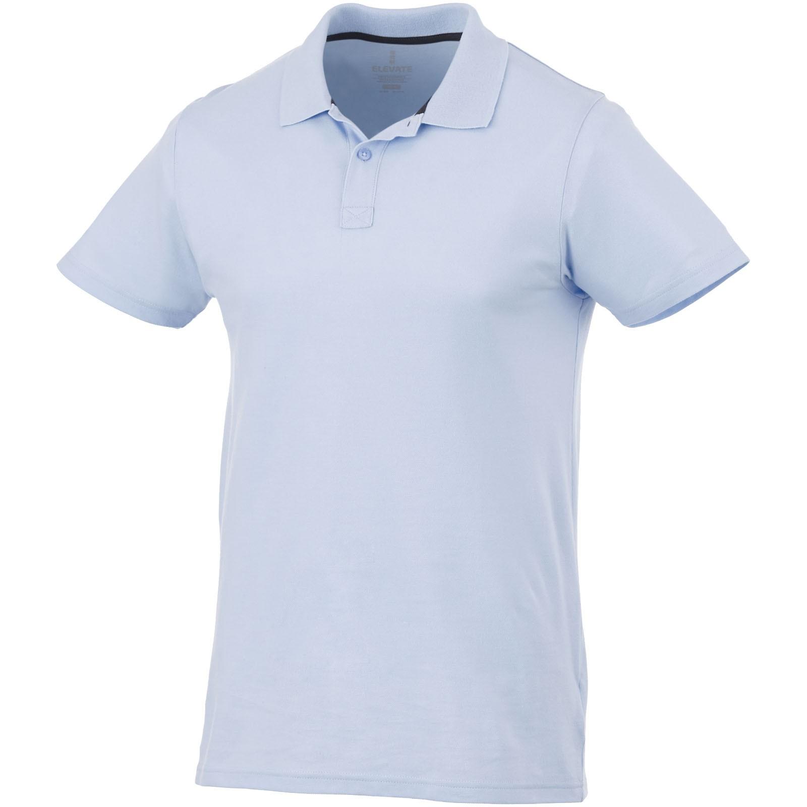 Primus short sleeve men's polo - Light blue / L