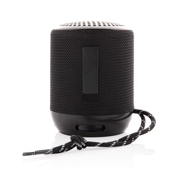 Soundboom vízálló 3W-os vezeték nélküli hangszóró - Fekete