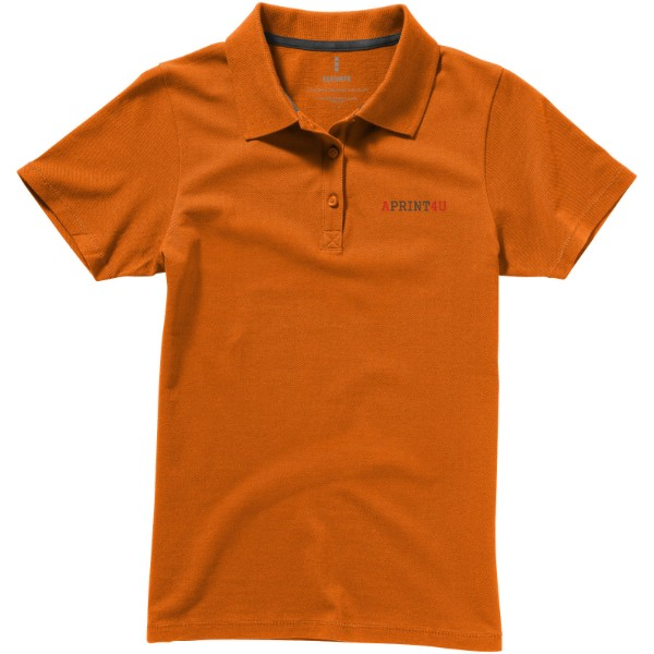 Seller short sleeve women's polo - Orange / M