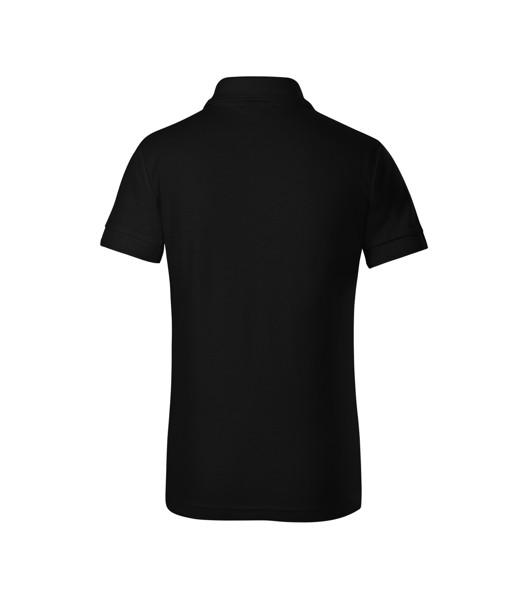 Polokošile dětská Malfini Pique Polo - Černá / 110 cm/4 roky