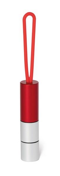 MAYOR. Hliníková svítilna - Červená
