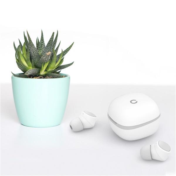 Prixton TWS156C Bluetooth® earbuds - White