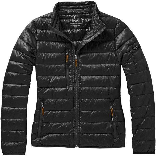 Scotia women's lightweight down jacket - Solid black / S