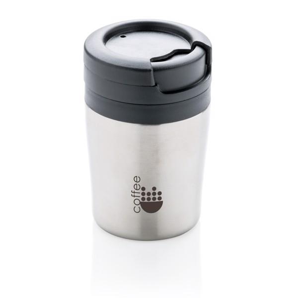 Coffee to go ivópohár - Ezüst Színű