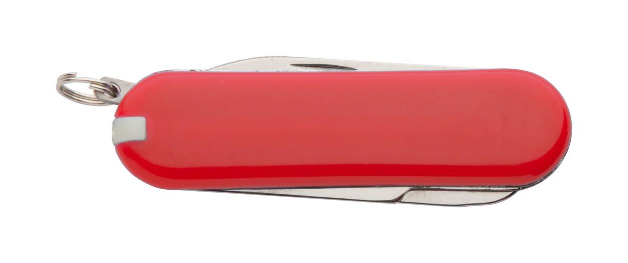 Multifunkční Kapesní Mini Nůž Castilla - Červená