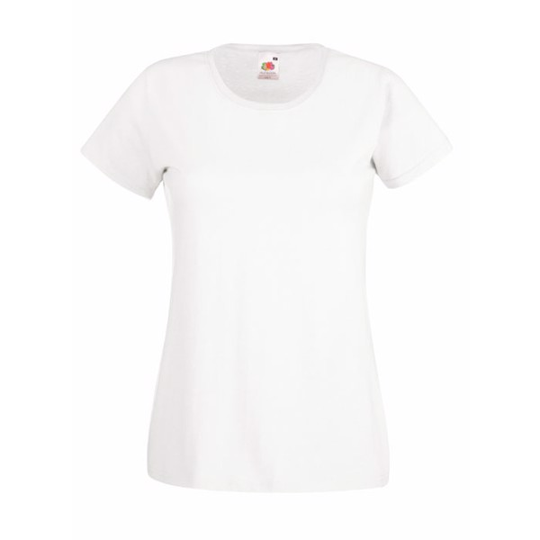 Lady-fit t-shirt 160 g/m² Lady-Fit Value Weight 61-372-0 - White / L